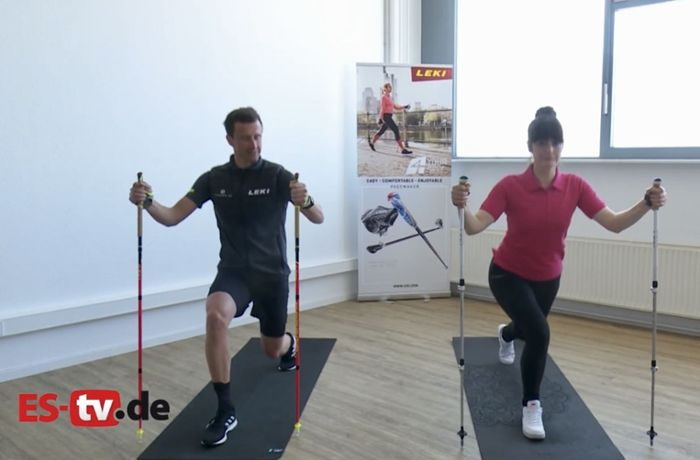ES-TV Video: Workout mit LEKI