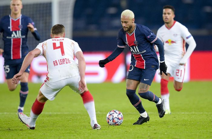 Champions League: RB Leipzig verpasst Coup in Paris