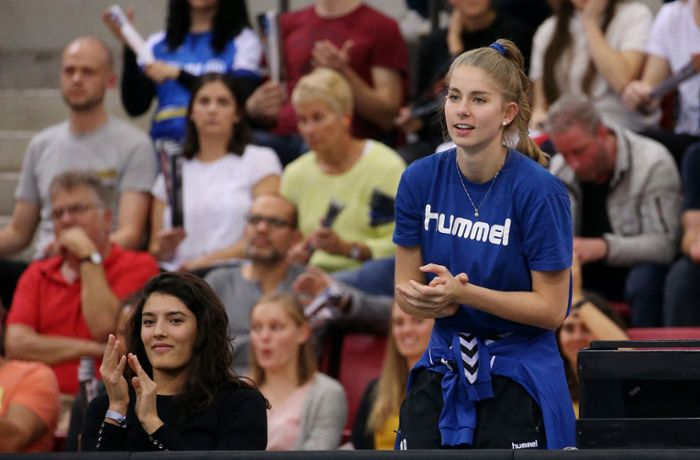 Volleyball – Allianz MTV Stuttgart: Pia Kästner kämpft um ihre Karriere
