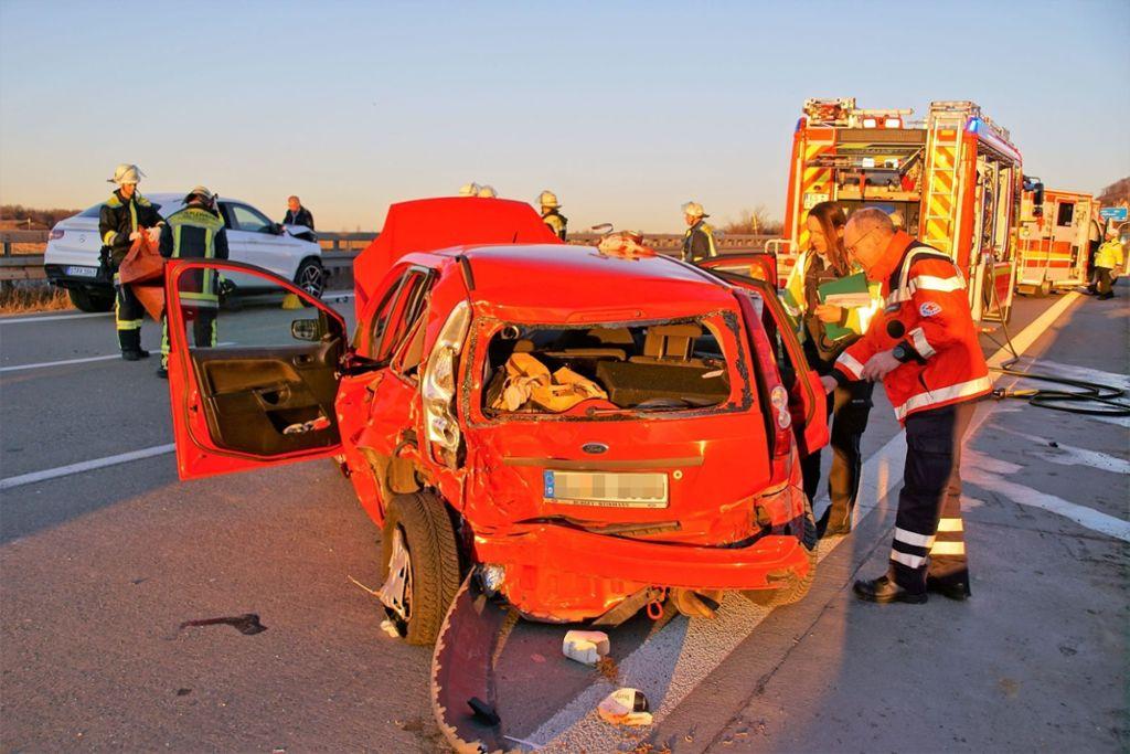 Beim Spurwechsel Unfall Verursacht