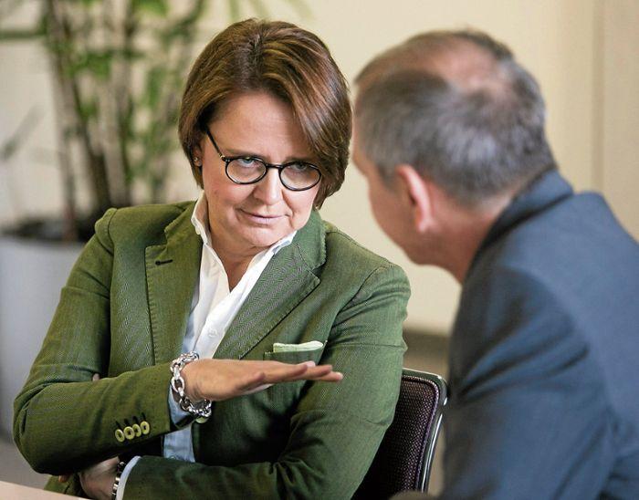 Die Vorsitzende der Frauen-Union über Aufstiegschancen in