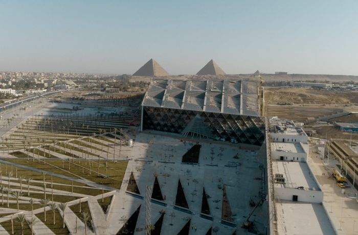 TV-Doku:  Grand Egyptian Museum: Stuttgarter Büro gestaltet Museum der Superlative