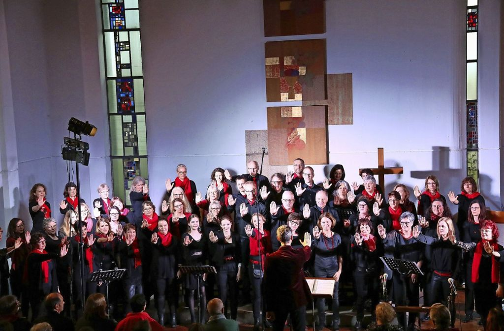Mitreißendes Gospel-Konzert in der Paul-Gerhardt-Kirche