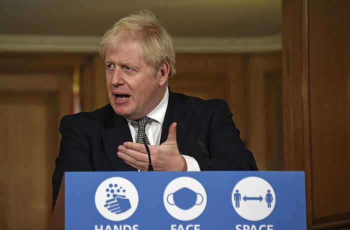 Englands Premierminister: Boris Johnson in Corona-Quarantäne