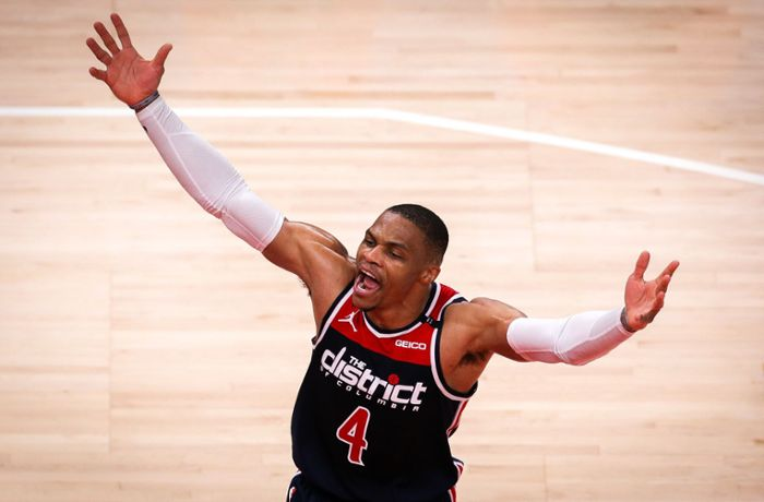 Russell Westbrook: Basketball-Star bricht 47 Jahre alten NBA-Rekord